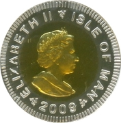 ¼ Angel - Elizabeth II (Gold Angel) – obverse