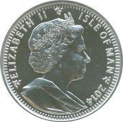 1 Angel - Elizabeth II (30th Anniversary of Angel Coinage) – obverse