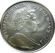 1 Angel - Elizabeth II (4th portrait) – obverse