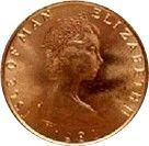 ½ Penny - Elizabeth II (16 - 10 - 81; World Food Day) – obverse
