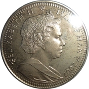 1 Crown - Elizabeth II (Queen with Corgi) -  obverse