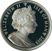 5 Angel - Elizabeth II (Archangel Michael) – obverse