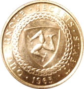 ½ Sovereign - Bicentenary of Revestment Act (200th Anniversary of Acquisition) – reverse