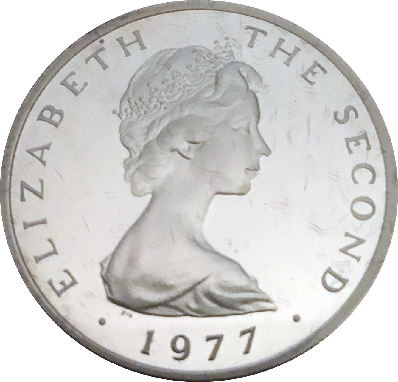 Coins of All Nations Isle of Man 10 pence 1978 UNC
