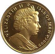 ¼ Angel - Elizabeth II (Archangel Michael) – obverse