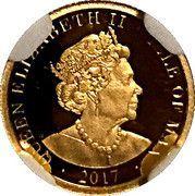 1 Angel - Elizabeth II (Archangel Michael) – obverse