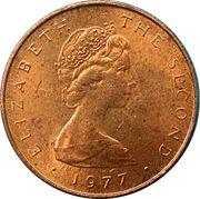½ Penny - Elizabeth II (F.A.O. Food For All) – obverse