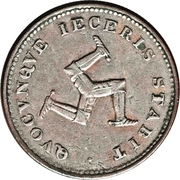 1 Penny - George III (Bank Token Coinage) – obverse