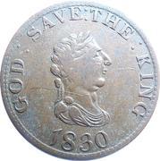 1 Penny - George III – obverse