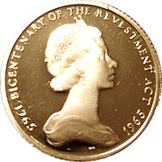 1 Sovereign - Bicentenary of Revestment Act (200th Anniversary of Acquisition) – obverse