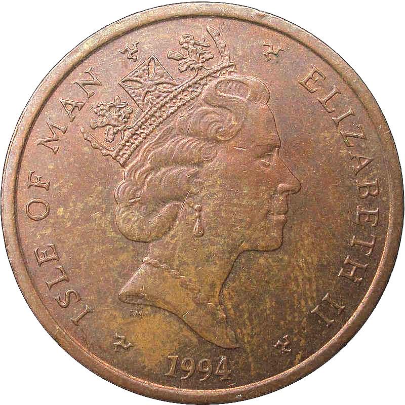 2 Pence Elizabeth Ii 3rd Portrait