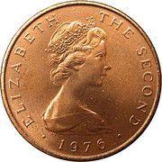 2 Pence - Elizabeth II (2nd portrait) -  obverse