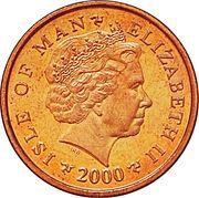 2 Pence - Elizabeth II (4th portrait) -  obverse
