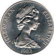 1 Crown - Elizabeth II (Mayflower) -  obverse