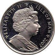 1 Crown - Elizabeth II (Scouting) -  obverse