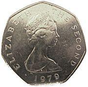50 Pence - Elizabeth II (Day of Tynwald) -  obverse