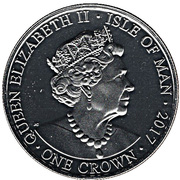 1 Crown - Elizabeth II (65th Anniversary of Accession) -  obverse