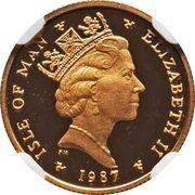 1/10 Angel - Elizabeth II (3rd portrait) – obverse