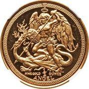 ½ Angel - Elizabeth II (Archangel Michael) – reverse