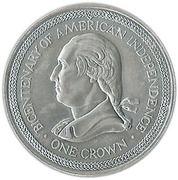 1 Crown - Elizabeth II (United States) -  reverse