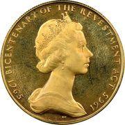 5 Pounds - Elizabeth II (Revestment Act) – obverse