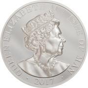 1 Angel - Elizabeth II (5th portrait, Piedfort) – obverse