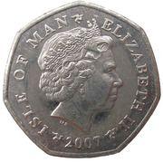 50 Pence - Elizabeth II (4th portrait) -  obverse