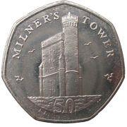 50 Pence - Elizabeth II (4th portrait) -  reverse