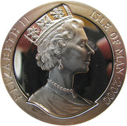 1 Crown - Elizabeth II (Year of the Dragon) -  obverse
