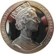 1 Crown - Elizabeth II (Dragon) -  obverse