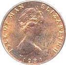 ½ Penny - Elizabeth II (F.A.O.; Food For All) – obverse