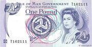 1 Pound - Elizabeth II (reduced size) – obverse