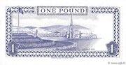 1 Pound - Elizabeth II (reduced size) – reverse
