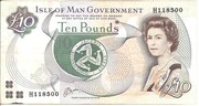 10 Pounds - Elizabeth II – obverse
