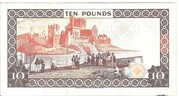 10 Pounds - Elizabeth II – reverse