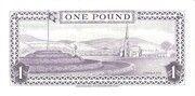 1 Pound - Elizabeth II – reverse