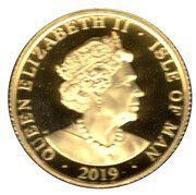 1/10 Angel - Elizabeth II (Archangel Michael) – obverse