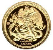 1/10 Angel - Elizabeth II (Archangel Michael) – reverse
