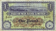 1 Pound (Isle of Man Bank Limited) – obverse