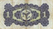 1 Pound (Isle of Man Bank Limited) – reverse