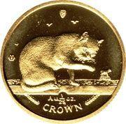 1/25 Crown - Elizabeth II (Blue British Short Hair Cat) – reverse