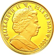 1/25 Crown - Elizabeth II (Birth of Norbert) – obverse