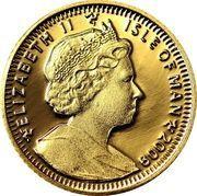 1/64 Crown - Elizabeth II (First Man on the Moon) – obverse