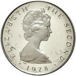 ½ Penny - Elizabeth II (herring; platinum) – obverse