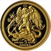 5 Angel - Elizabeth II (3rd portrait) – reverse