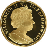 32 Angel - Elizabeth II – obverse