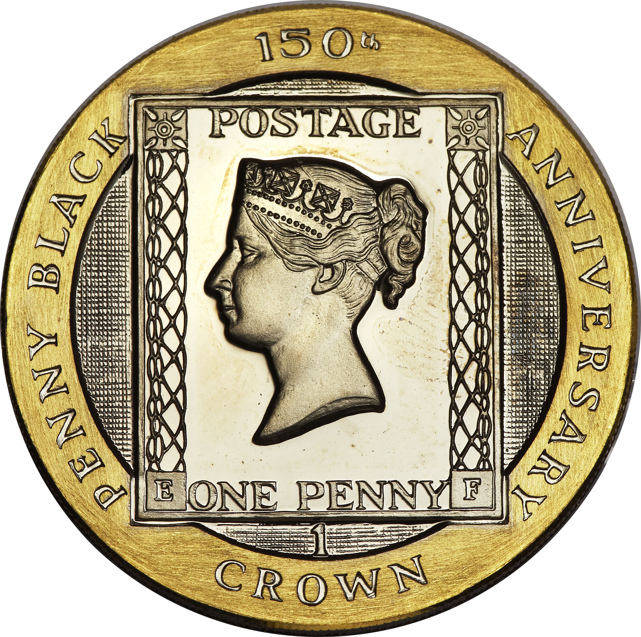 black penny coin