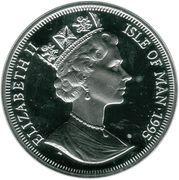 1 Angel - Elizabeth II (3rd portrait) – obverse