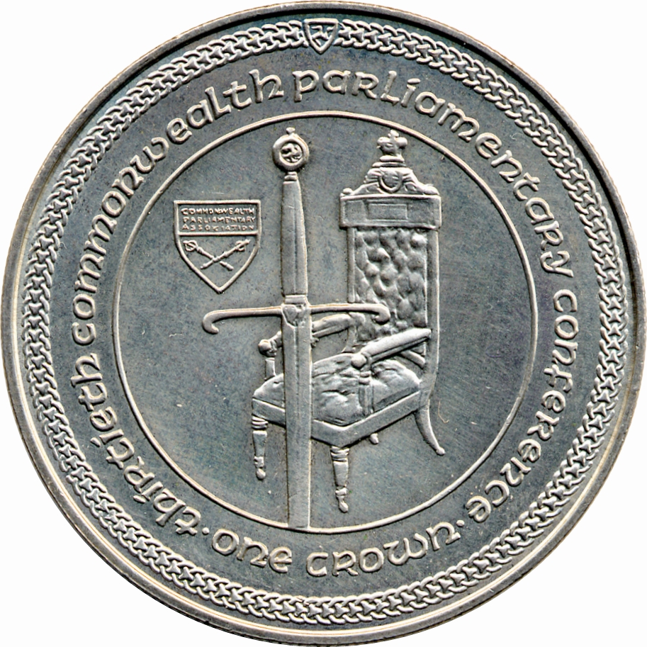 1984 Isle Of Man Crown 30th Commonwealth Parliamentary Conference