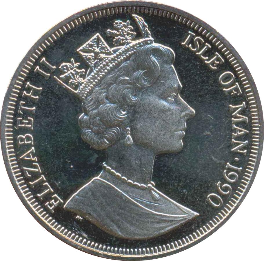 1 Crown - Elizabeth II (Queen Mother) - Isle of Man – Numista Queen Elizabeth 1 Crown
